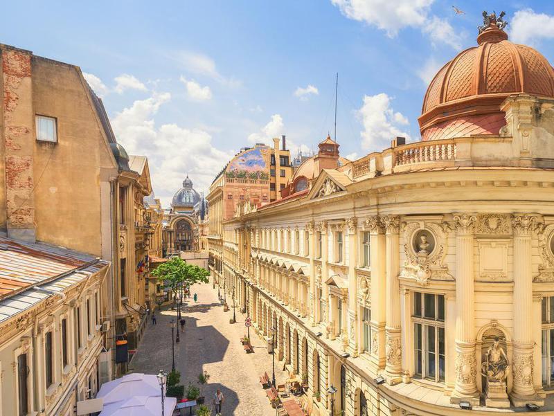 Bucharest Old Town, Romania