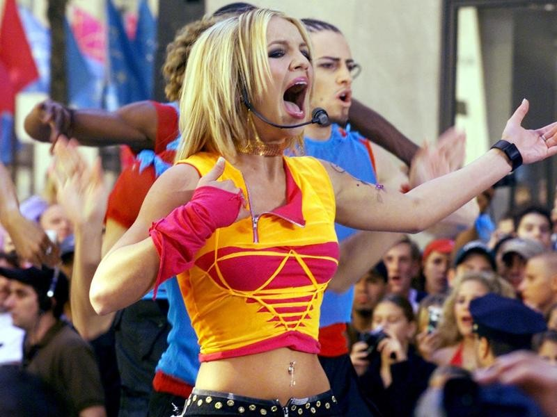 """Britney Spears on the """"Today"""" Show"""