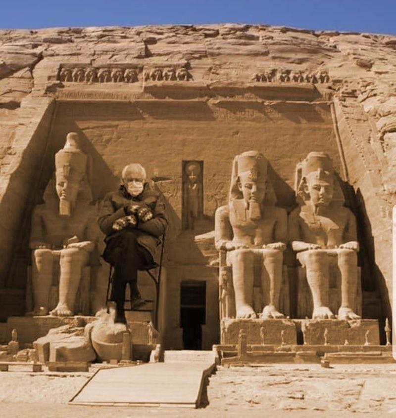 Bernie Sanders in ancient Egypt