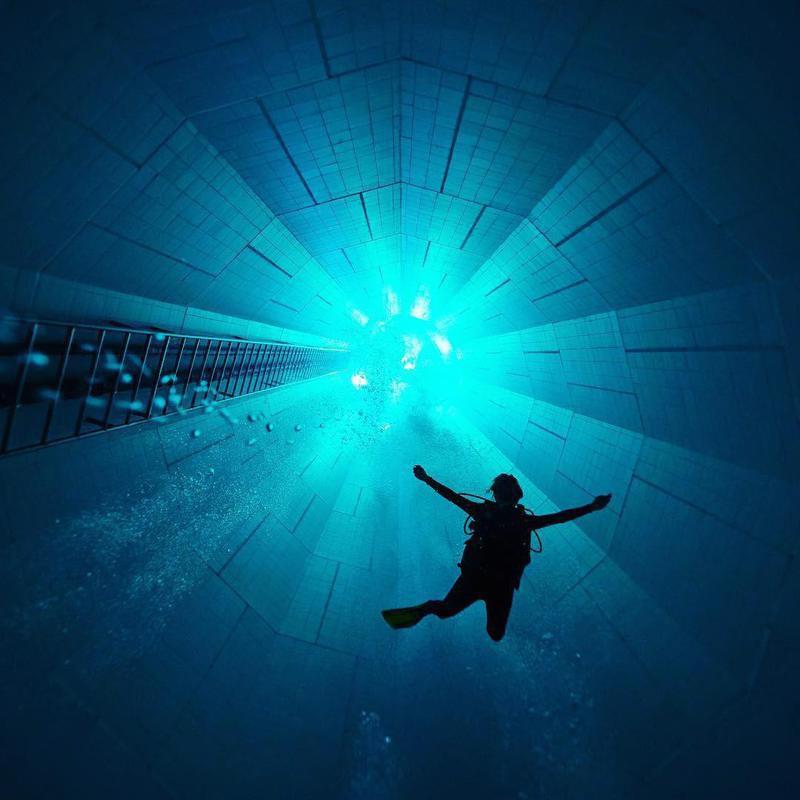 Nemo 33 pool in Belgium