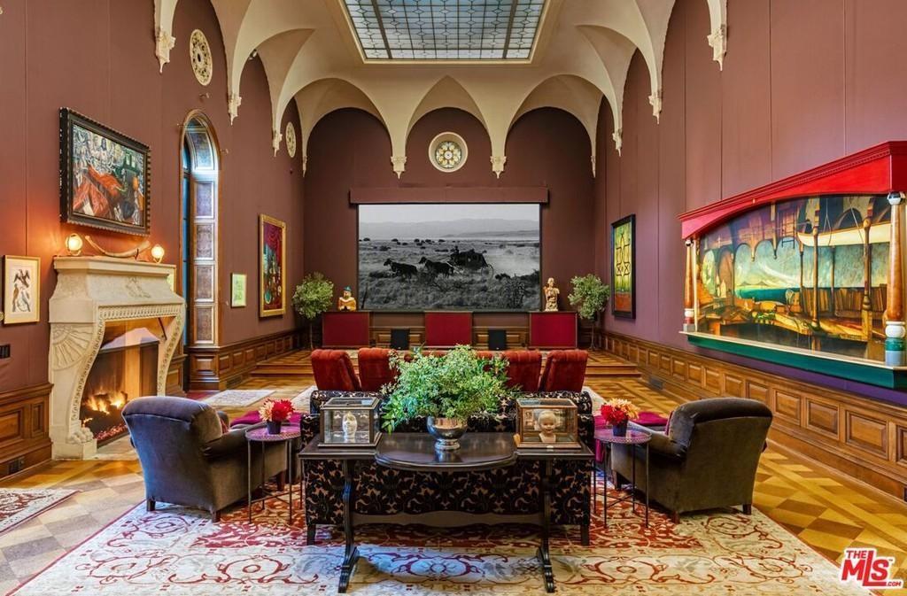 Danny Elfman's ballroom