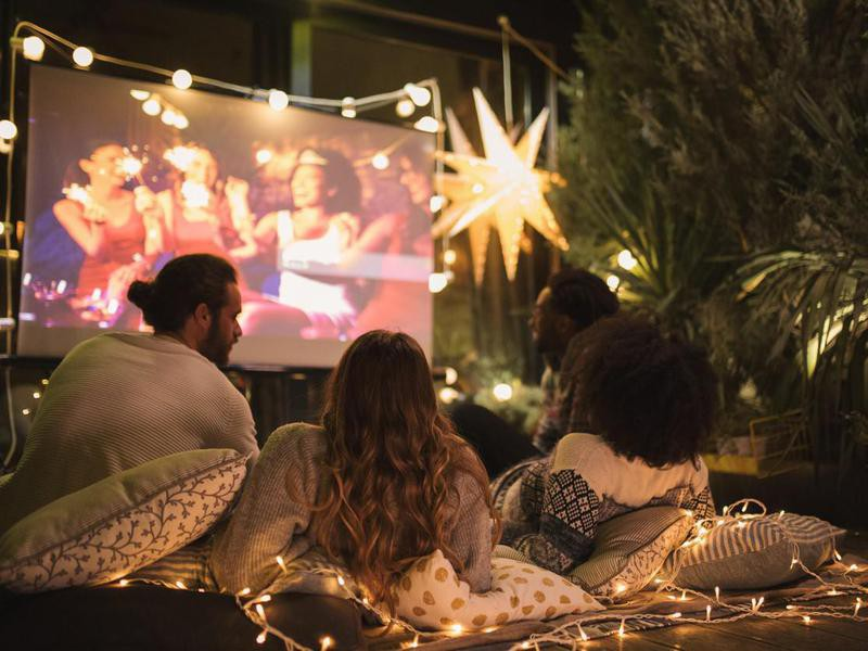 Create an Outdoor Movie Theater