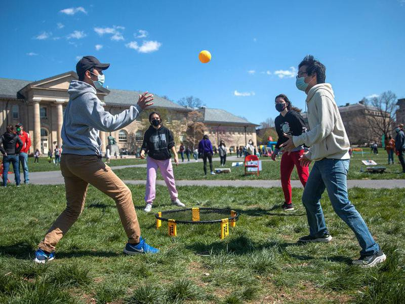 Students at Cornell University
