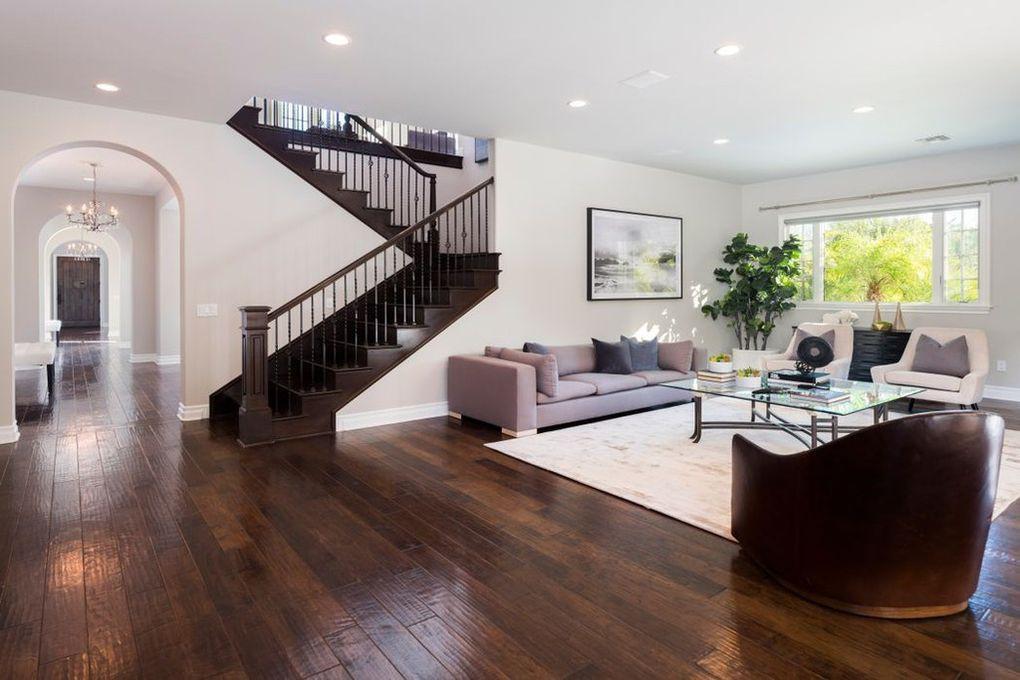 Open floor plan living room