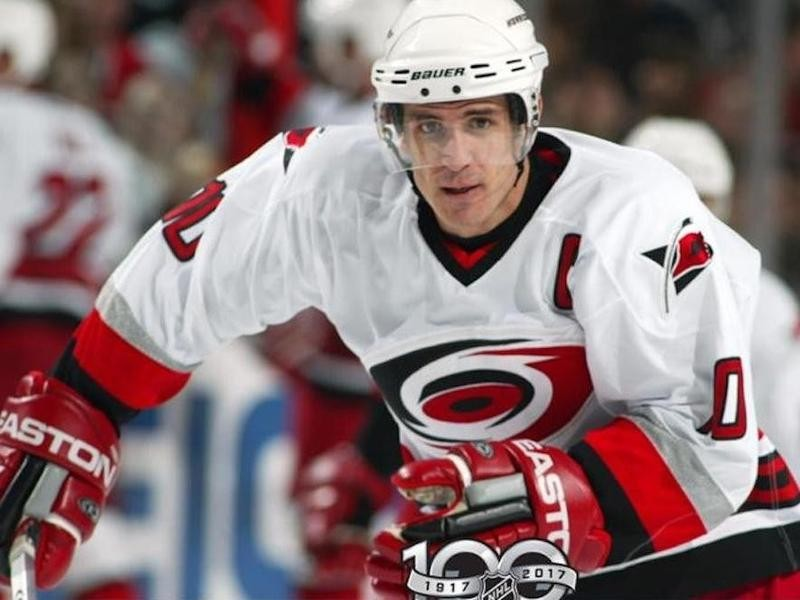 Ron Francis played six seasons for the Carolina Hurricanes