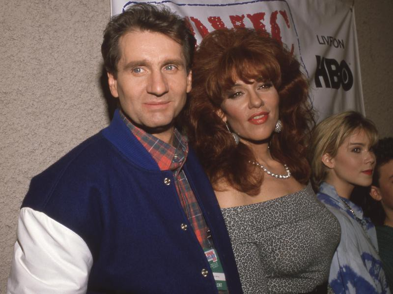 Ed O'Neill and Katey Sagal in 1989