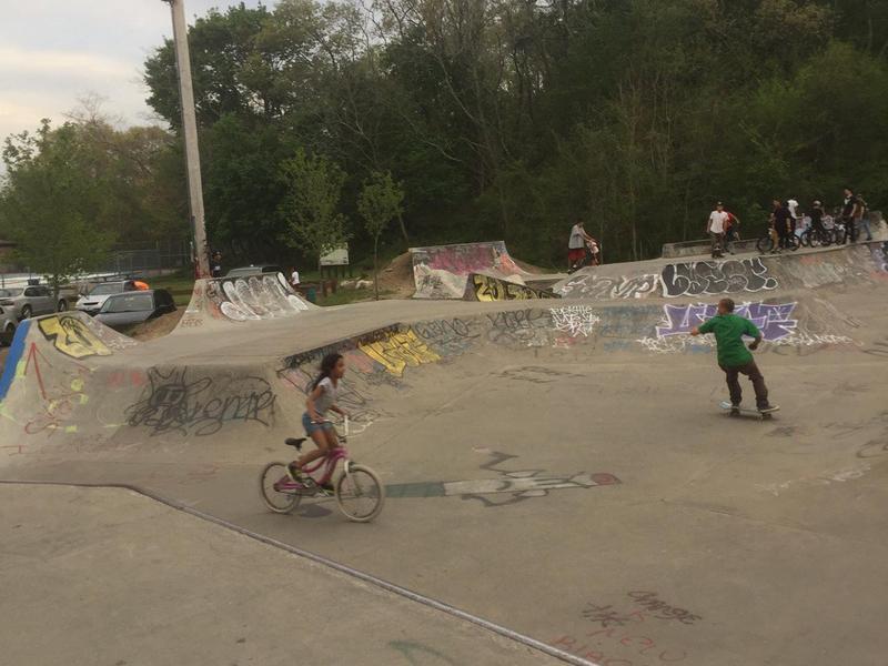 Neutaconkanut Skate Park in Providence, Rhode Island