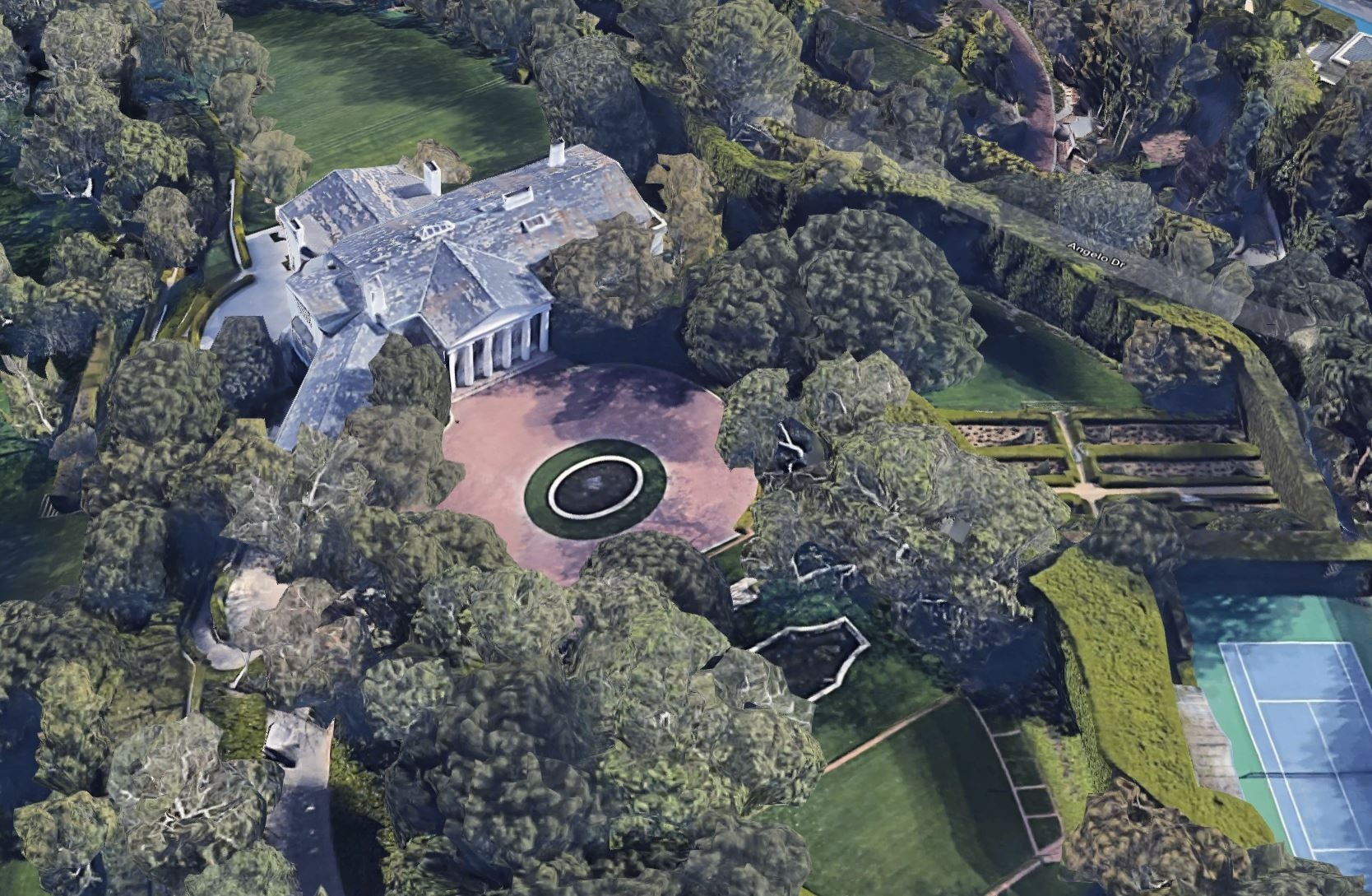 Jack Warner Estate/Jeff Bezos' house