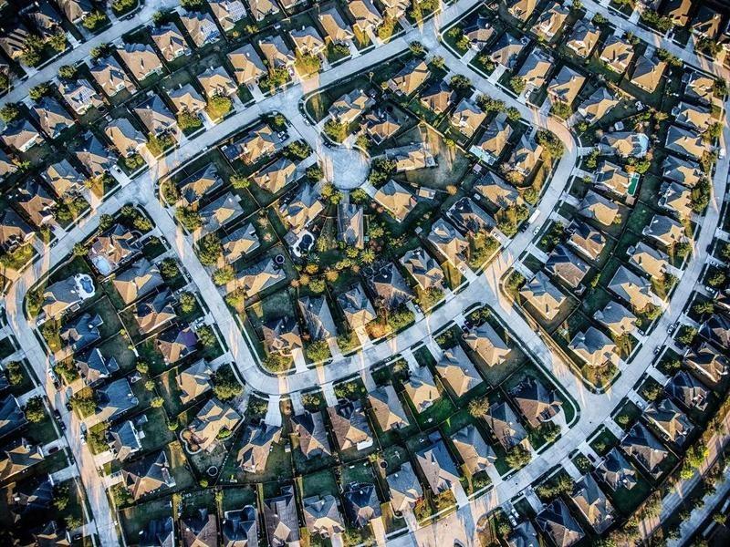 Neighborhood in Houston, Texas