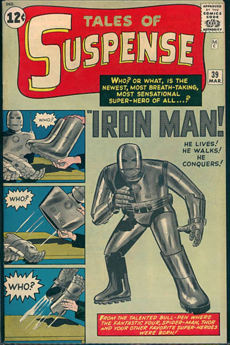 Tales of Suspense No. 39, first appearance of Iron Man
