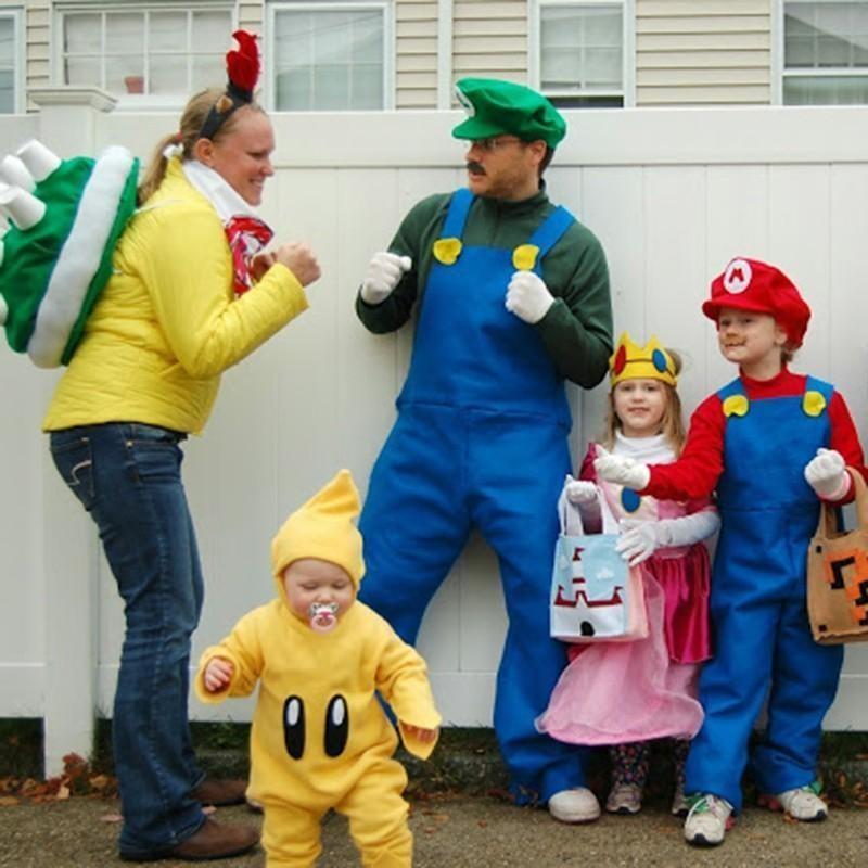Super Mario Bros. costumes