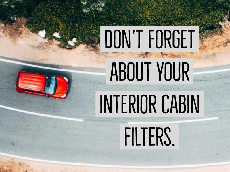 interior cabin filters