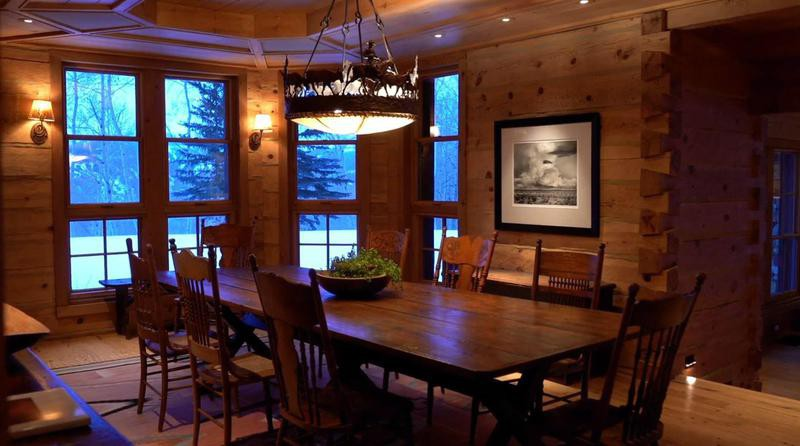 Tom Cruise's dining room