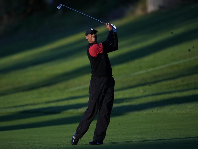 Tiger Woods at the 2019 Genesis Open