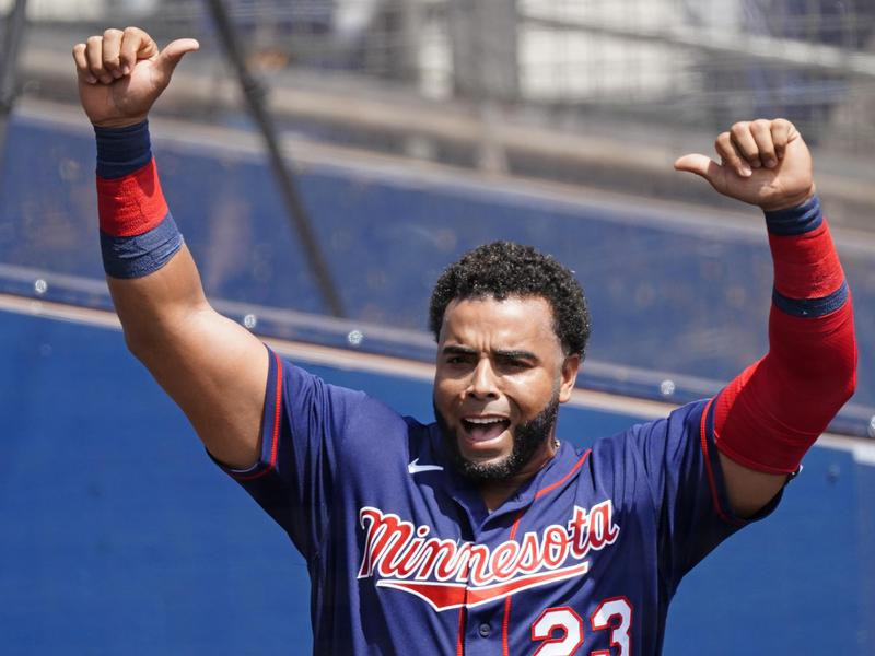 Minnesota Twins designated hitter Nelson Cruz