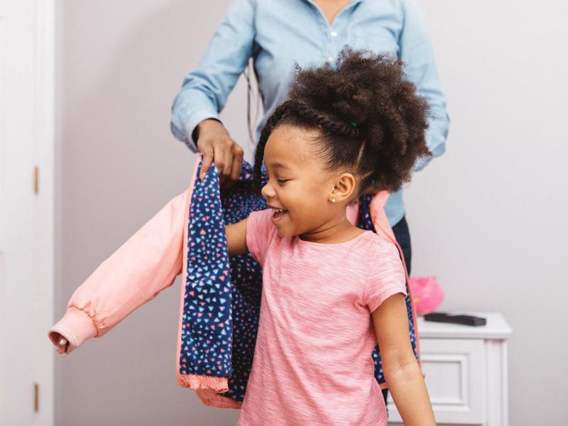 Funny parenting lies about jackets