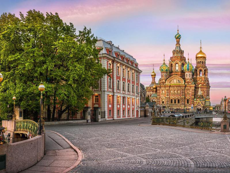 Cathedral of the Savior on Spilled Blood, Saint Petersburg, Russia