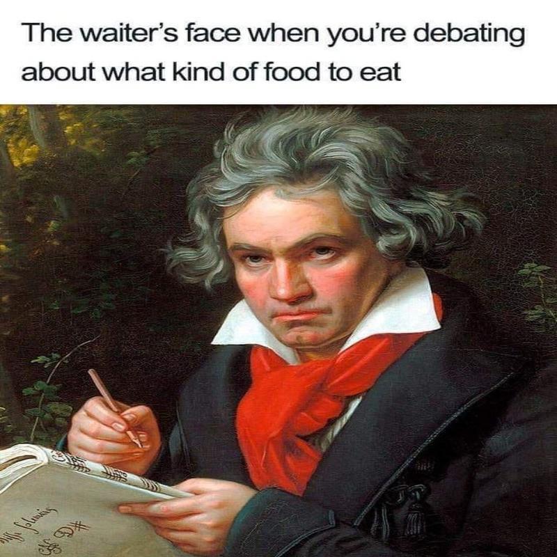 Beethoven server meme