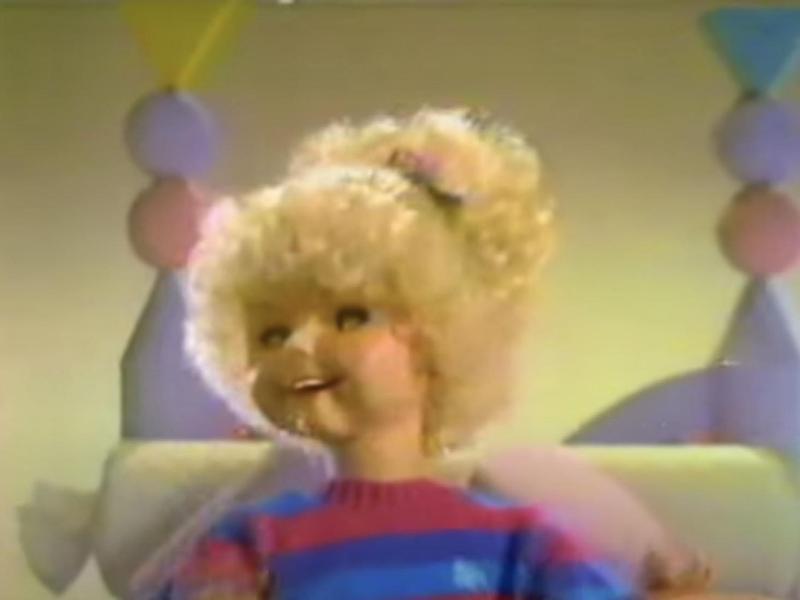 Jill the Talking Doll
