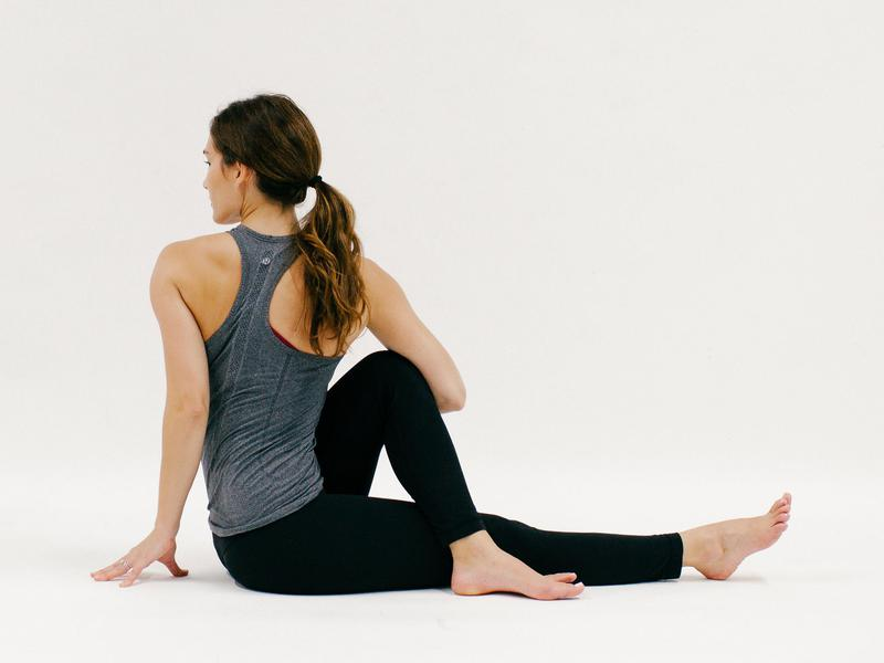 Seated Twist - 10 Minutes of Yoga to Jumpstart Your Work Day