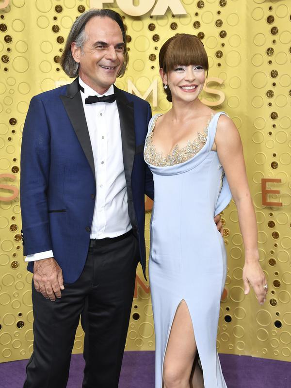 Vince Calandra and Emmanuelle Vaugier