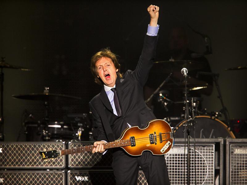 McCartney in Brazil