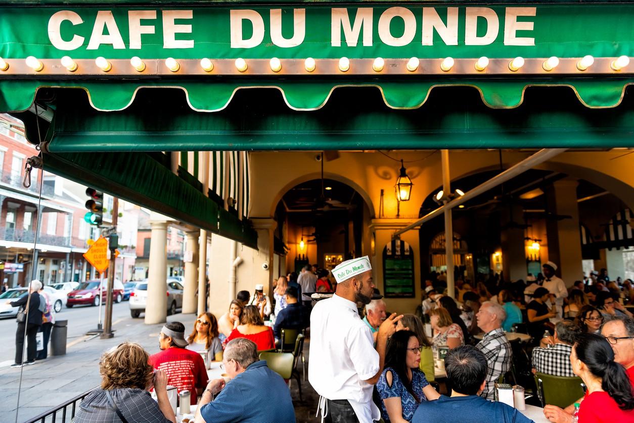 Cafe Du Monde in New Orleans