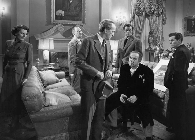 Broderick Crawford, Walter Burke, Ralph Dumke, Richard Hale, John Ireland, Anne Seymour in All the King's Men