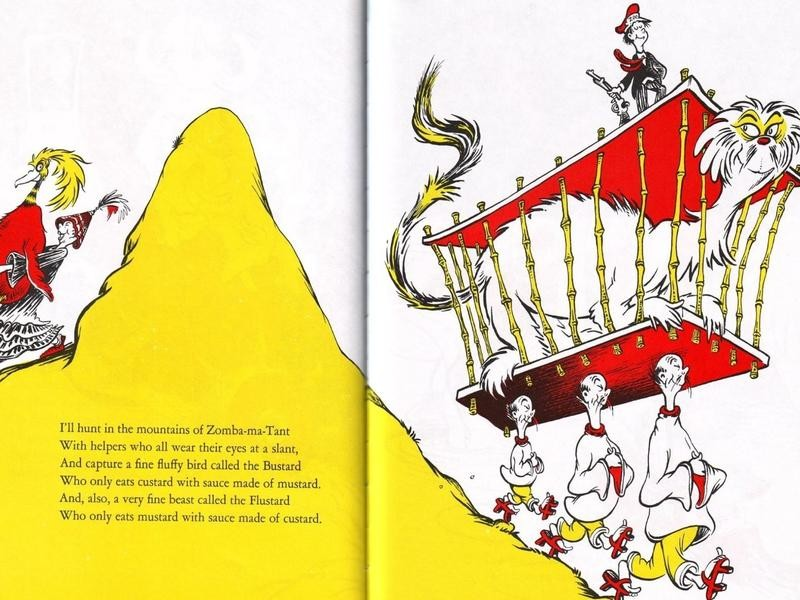 One of Dr. Seuss's less admirable phrases