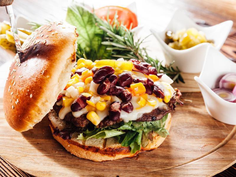 Burger Topping Ideas: Corn