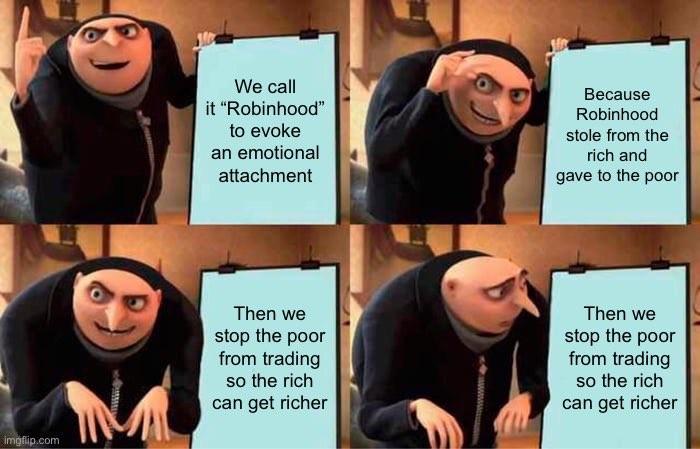 Robinhood GameStop meme