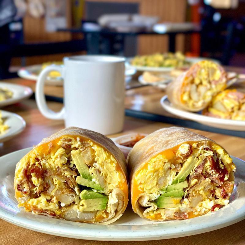 Cronies breakfast burrito