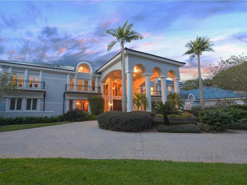Shaq's house by Orlando