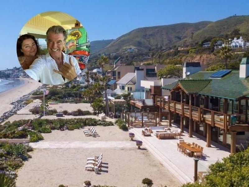 Pierce Brosnan's Malibu mansion