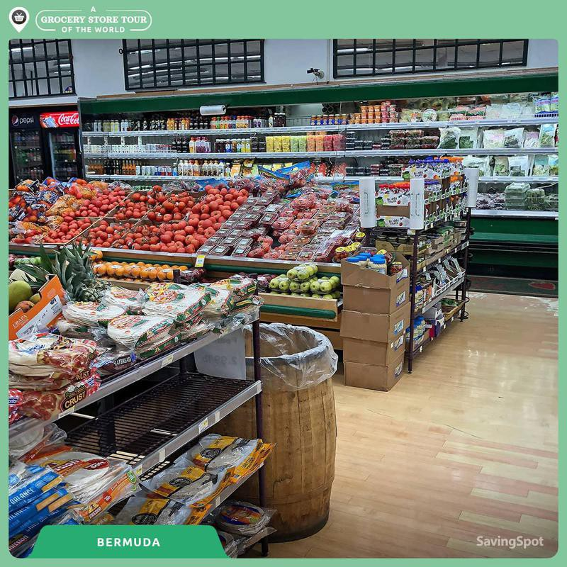 Bermuda grocery store