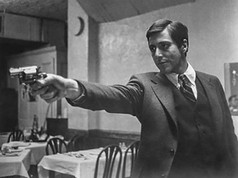 """""""The Godfather"""" Al Pacino 1972 Paramount Pictures"""