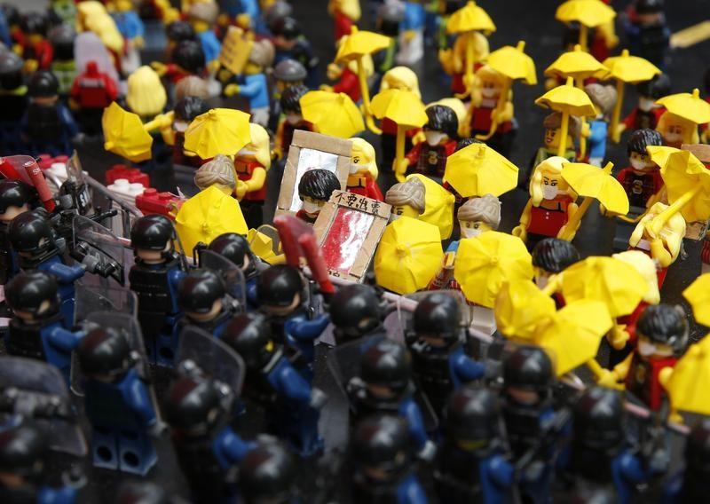 Hong Kong Lego protest
