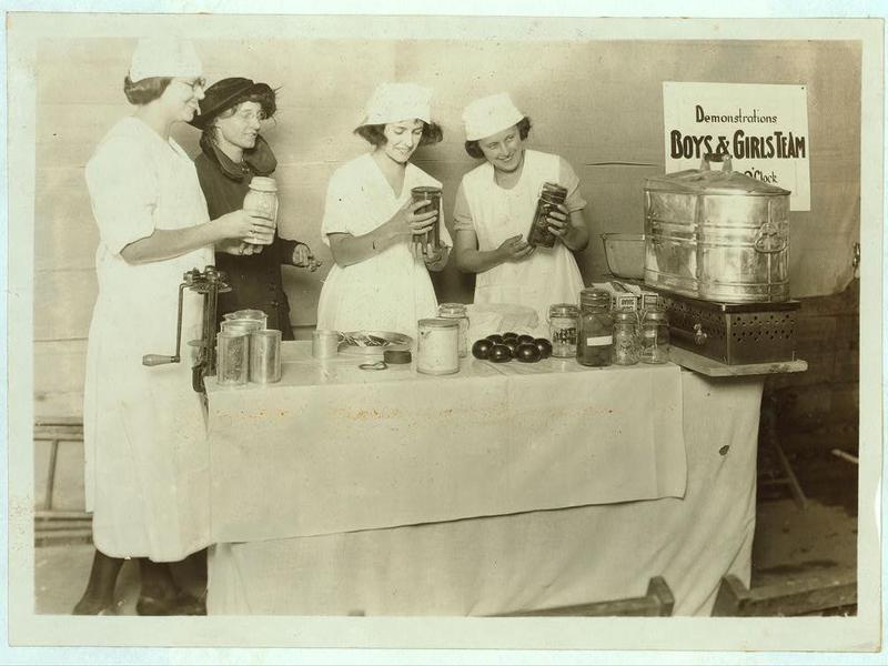 Canning girls