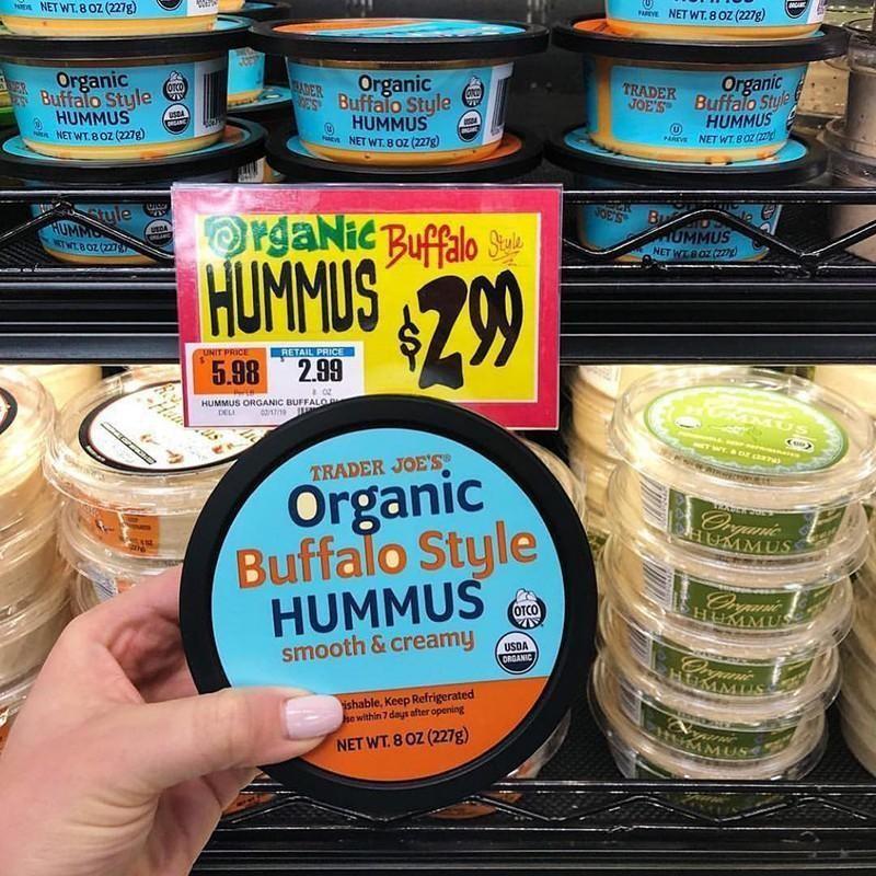 Organic Buffalo Style Hummus