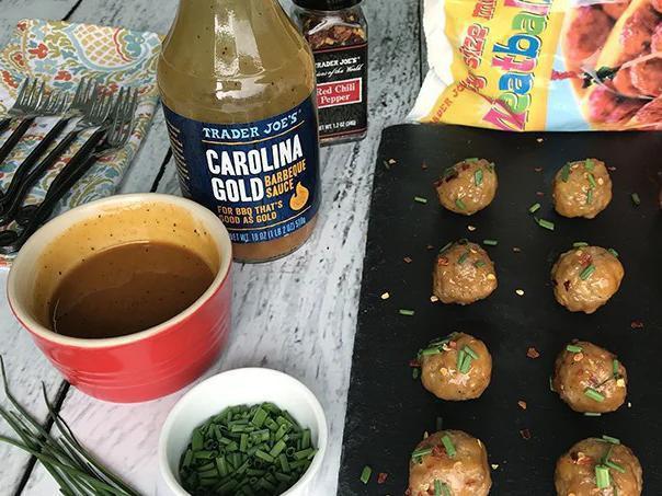 Good as Gold Mini Meatballs