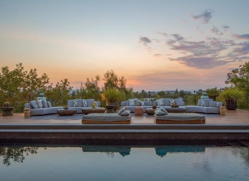 Pool in Beverly Crest