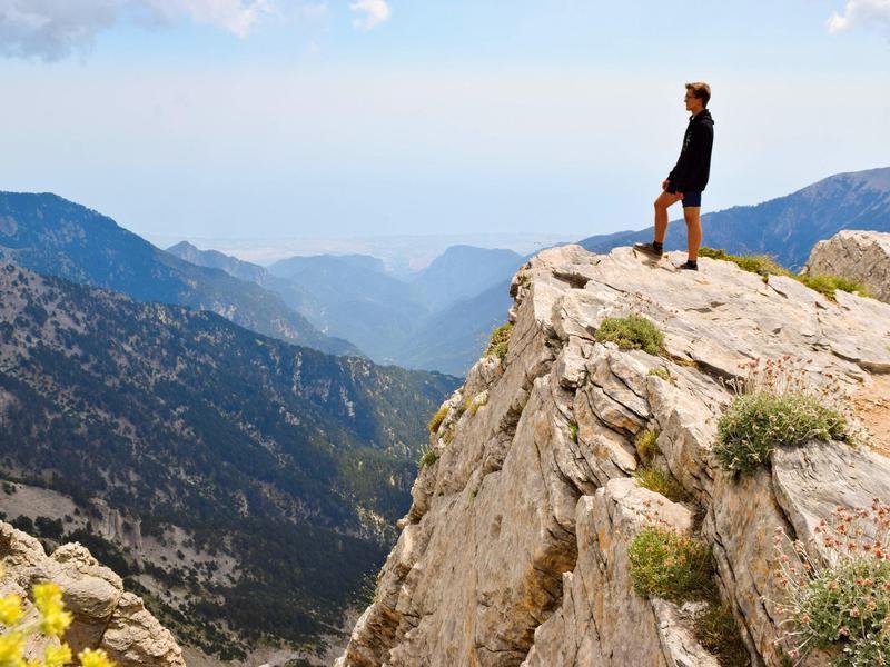 Standing over the precipice