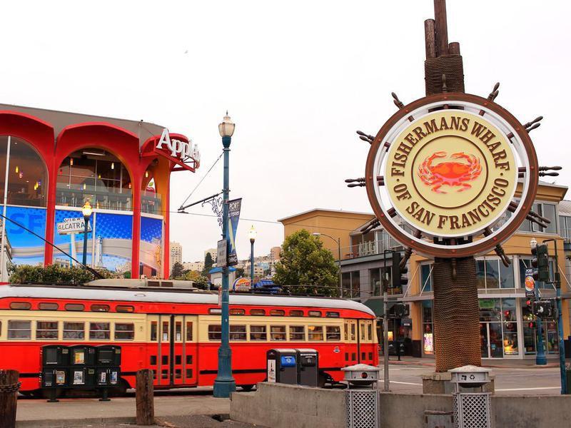 Fisherman's Wharf in San Francisco