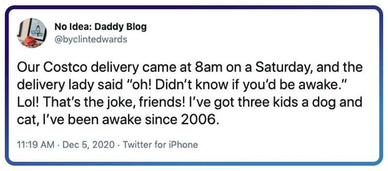 awake early