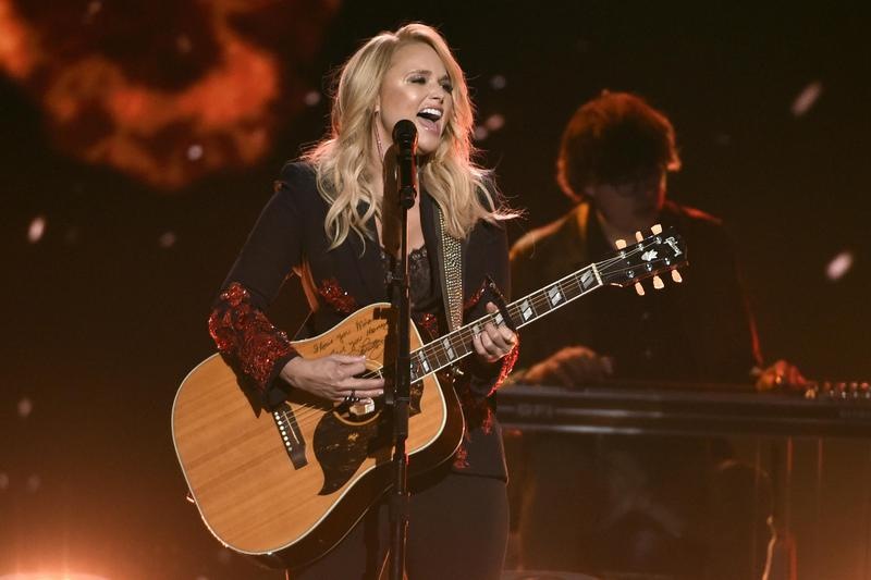 Miranda Lambert performs at the Academy of Country Music Awards in Las Vegas in 2018.