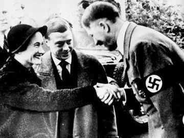The Duke of Windsor and Wallis Simpson meet Adolf Hitler