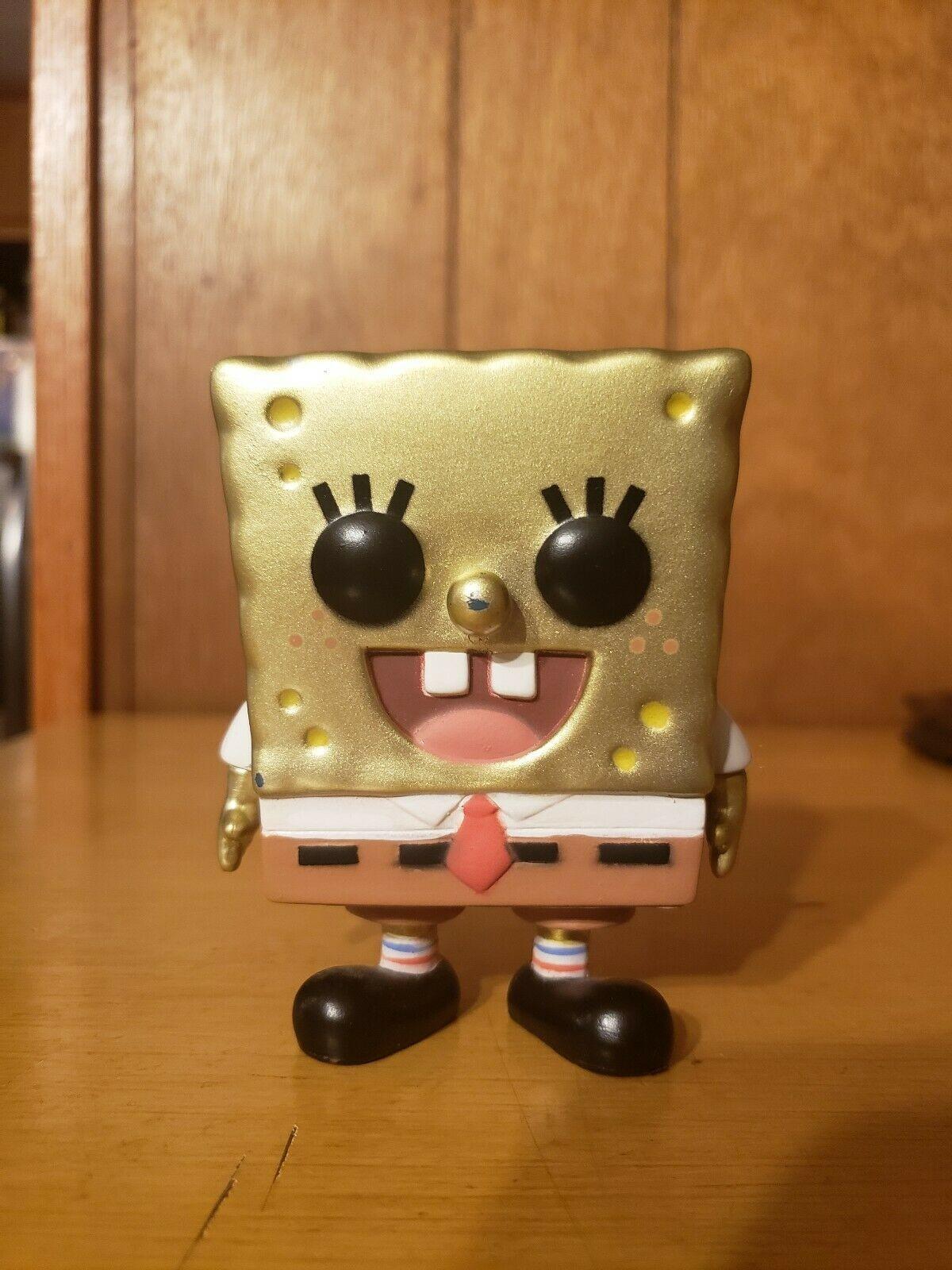 Metallic Spongebob Funko Pop