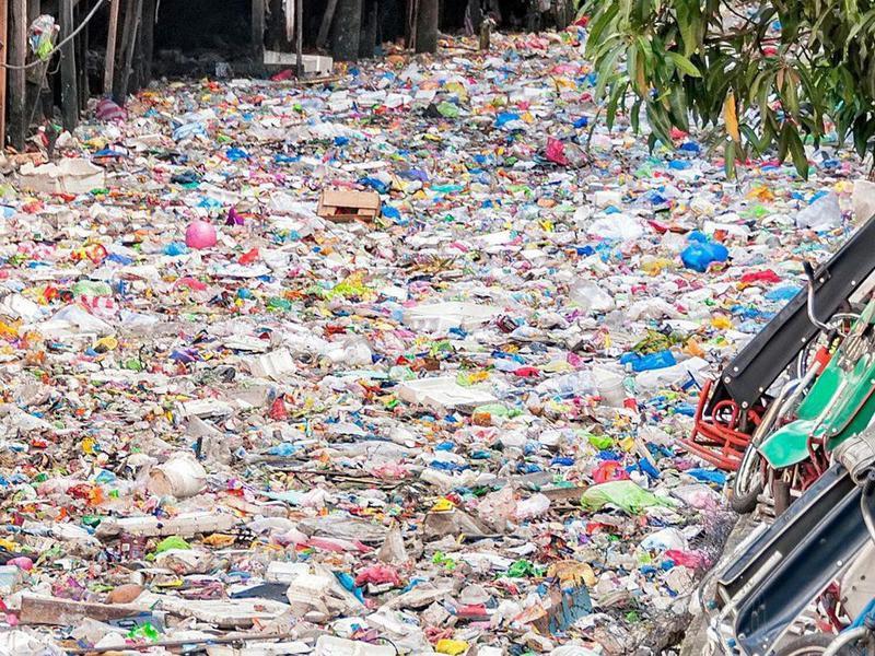 Citarum River pollution