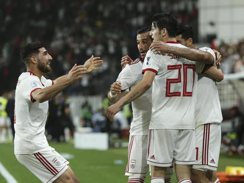 Iran players