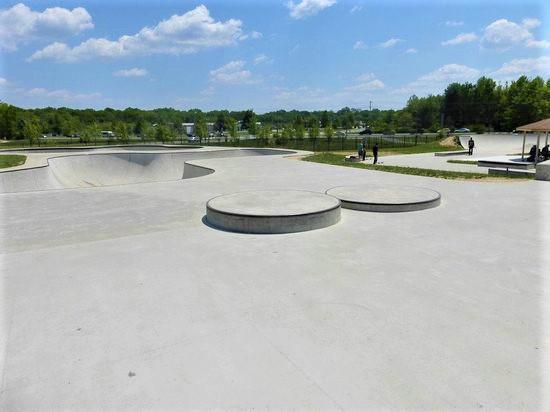 Glasgow Skateboarding Park in Glasgow, Delaware